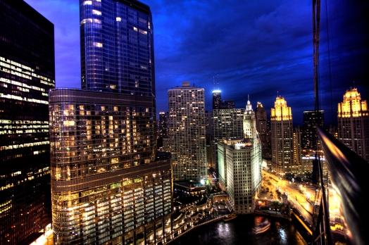 public-domain-images-free-stock-photos-chicago-skyline-night
